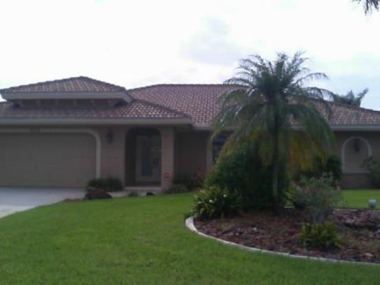 This home at 5215 SW 5th Place, Cape Coral, recently