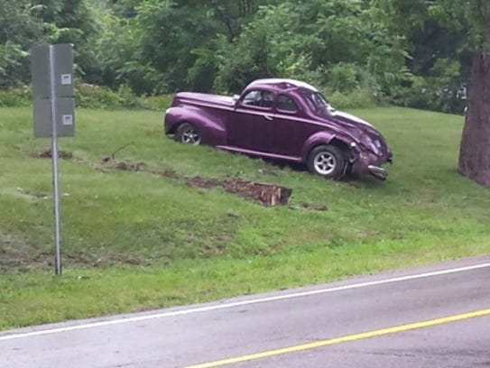 Classic Car Crash Kills Owner Who Planned To Show His Car