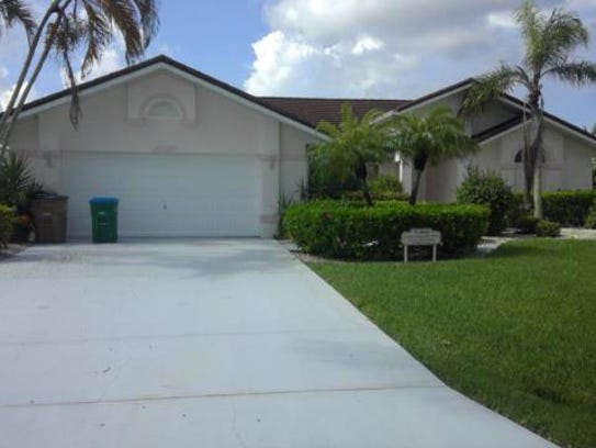 This home at  826 SW 56th St., Cape Coral, recently
