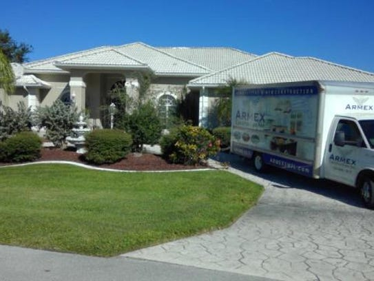 This home at 2853 SW 47th Terrace, Cape Coral, recently