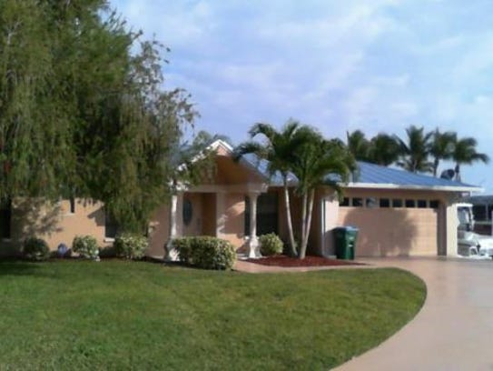 This home at 2711 SE 24th Court, Cape Coral, recently