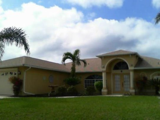 This home at 4320 SW 26th Ave., Cape Coral, recently