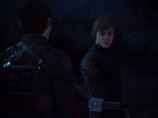 A scene from 'Star Wars Battlefront II'