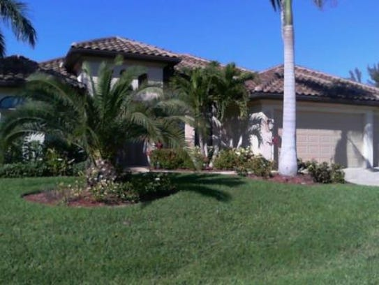 This home at 4330 SW 19th Place, Cape Coral, recently