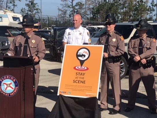 Florida Highway Patrol Lt. Greg Bueno talks about hit-and-run