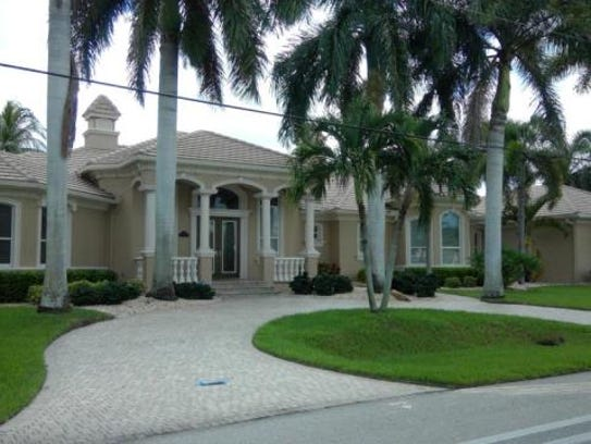 This home at 1637 Orchid Blvd., Cape Coral, recently