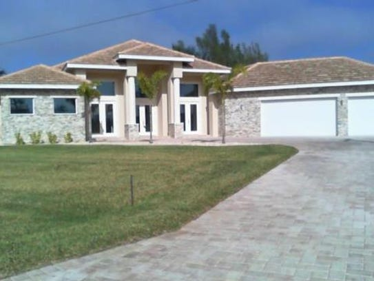 A home at 1405 SW 38th St., Cape Coral, recently sold