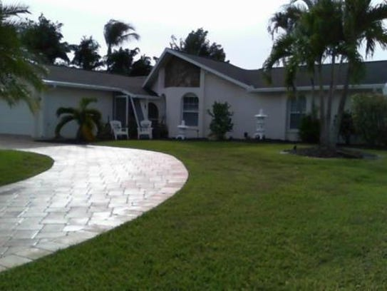 This home at 714 SW 52nd St., Cape Coral, recently