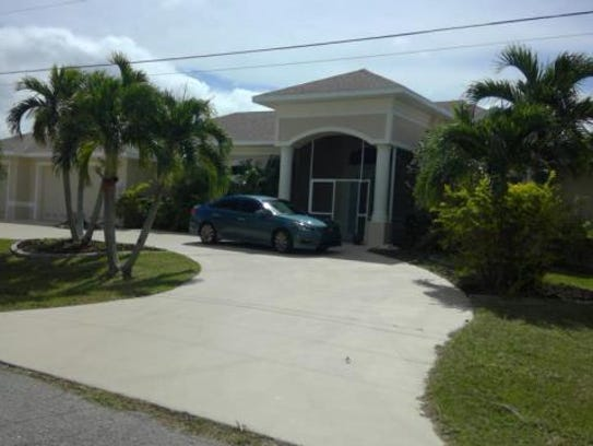 This home at 1418 SW 52nd Lane, Cape Coral, recently