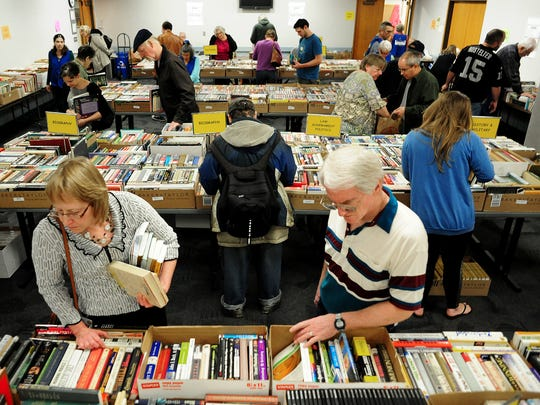 The Friends of Salem Public Library Spring Book Sale takes place Oct. 17-20.