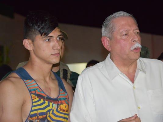 Alan Pulido, Egidio Torre Cantu