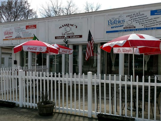 Enjoy authentic Italian fare and wine on the patio