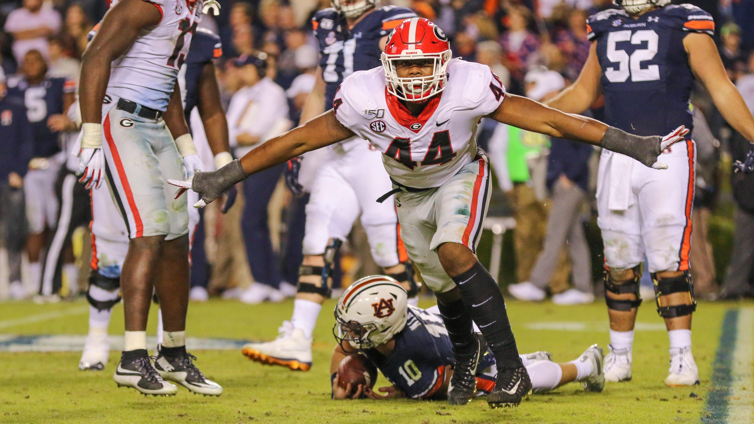 UGA football vs. Auburn: Kickoff time, how to stream, TV channel, betting line
