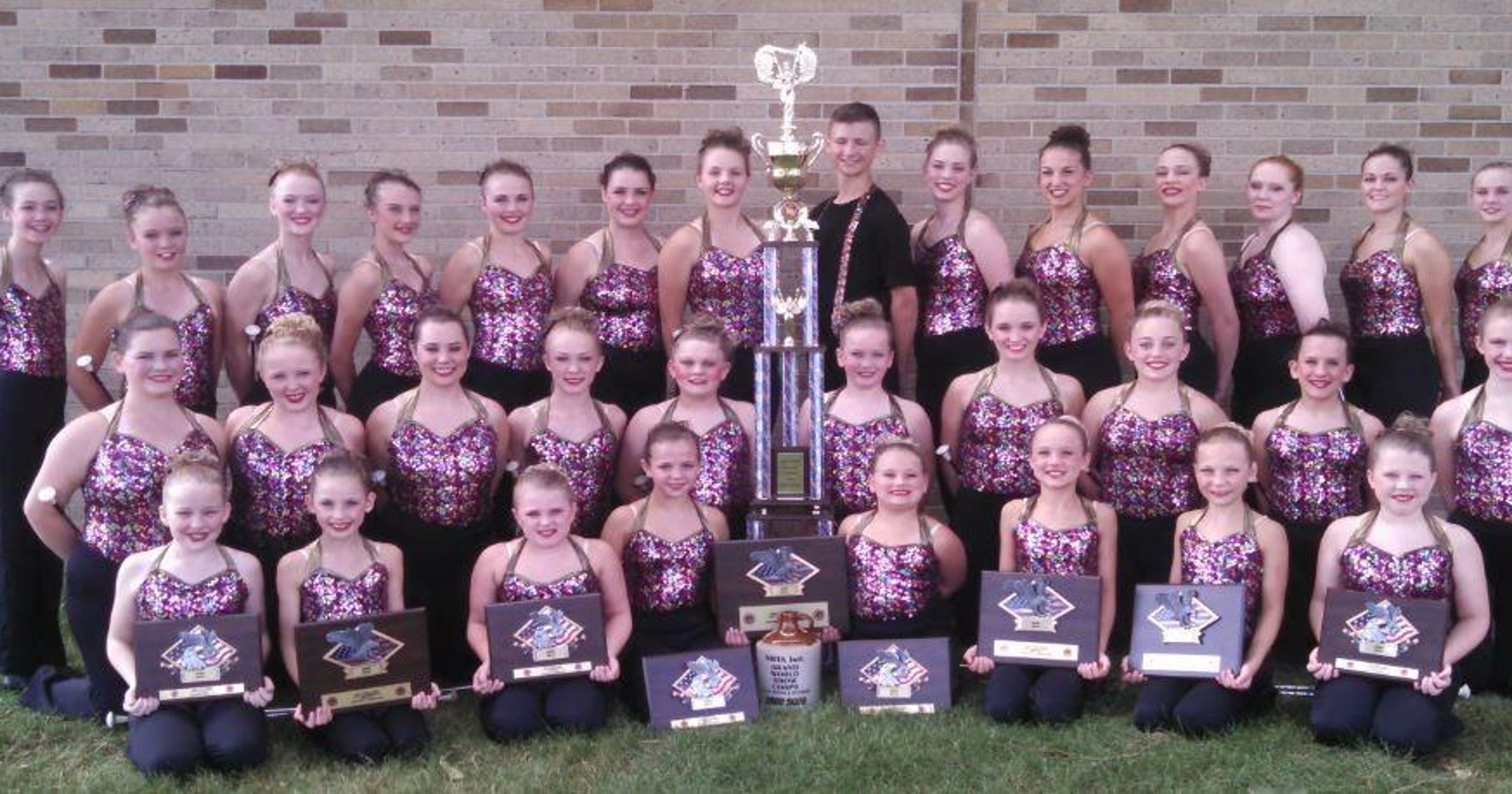 lowest price 845ee a27bf Norwalk baton twirlers win nationals