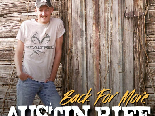 Austin Rife regularly performs his country tunes at Brookmere Wine & Tasting Room in Abbottstown.
