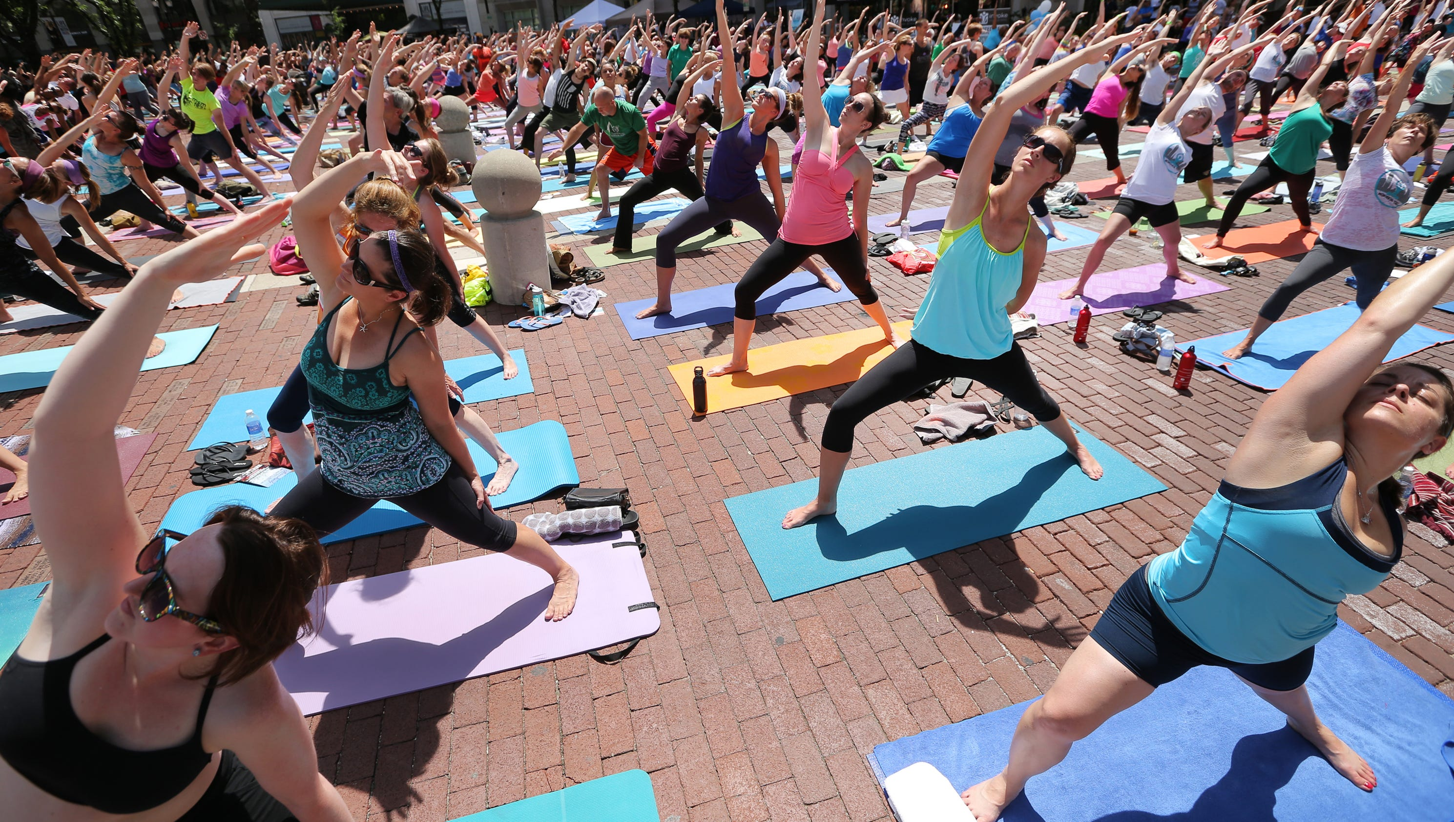 8 places to practice hot yoga for Places to do yoga