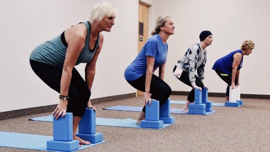 Journey of Hope Yoga in Holland is offering a cancer-focused class called Yoga For Cancer.