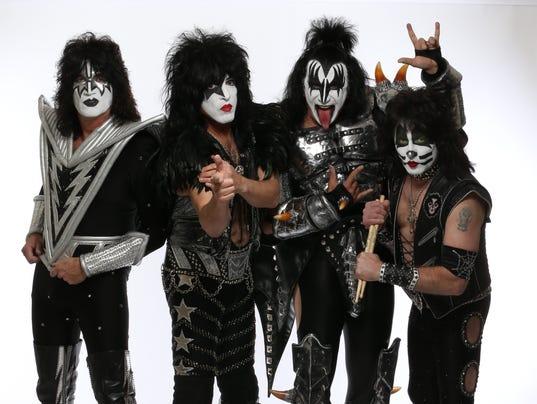 Members of The Rock Band Kiss