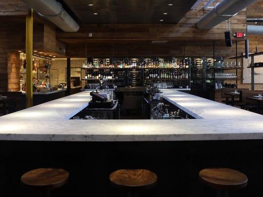 Interior of Barcelona Wine Bar Wednesday November 16, 2016.