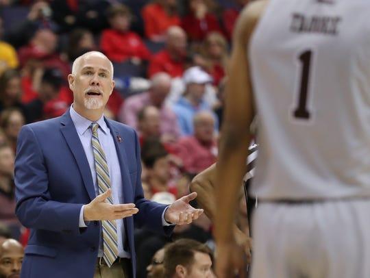 St. Bonaventure's 11th-year coach Mark Schmidt has