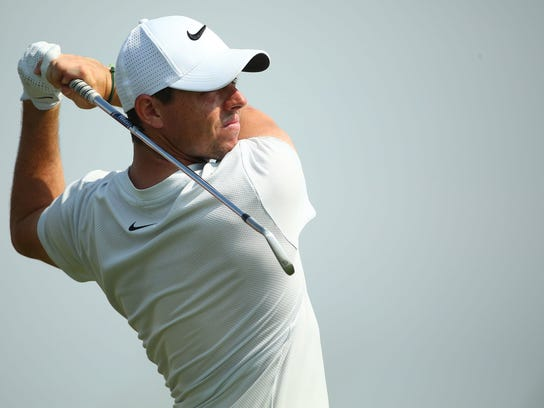 Rory McIlroy has yet to find success at the Masters on Sunday