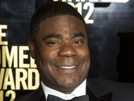 Tracy Morgan at The 2012 Comedy Awards in New York in an April 28, 2012, file photo. (AP Photo/Charles Sykes, File)