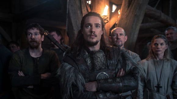 Gerard Kearns (as Halig), Alexander Dreymon (as Uhtred),