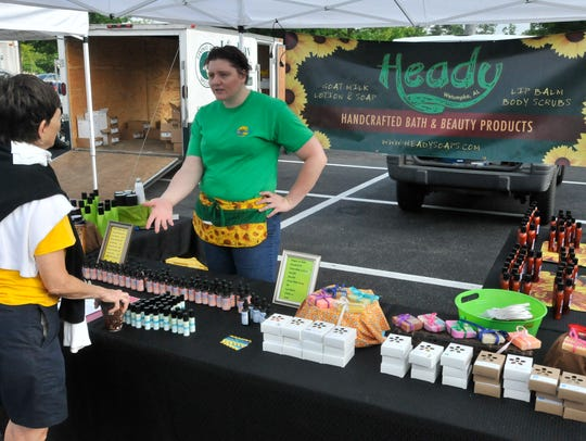 Lisa Wright of Heady in Wetumpka offers a variety of