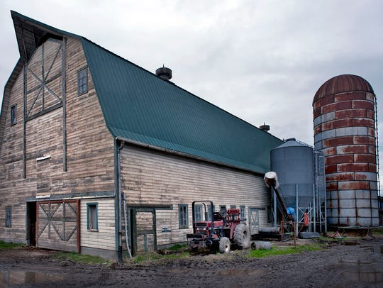 The Dykstra Dairy Farm has been a fixture in Burlington