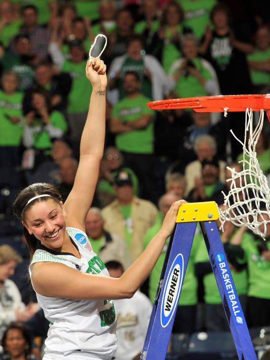 NCAA Baylor Notre Dame Basketball (2)