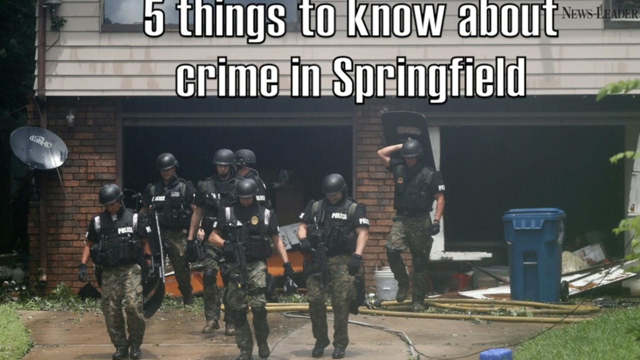5 things to know about crime in Springfield