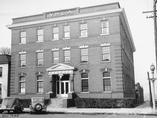 The old YMCA building at the southwest corner of Third