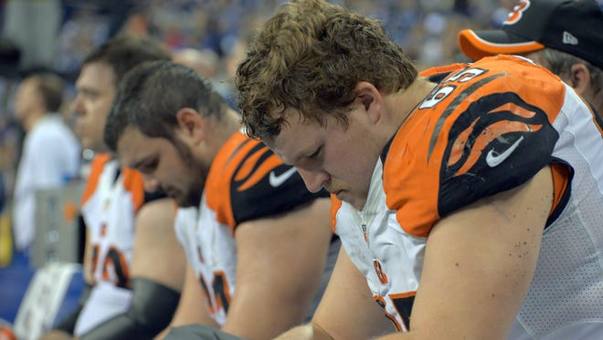 The Bengals have been outscored 57-6 in the second half of their last four playoff losses.