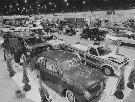 After A Century Indianapolis Auto Show Looks Back And Ahead