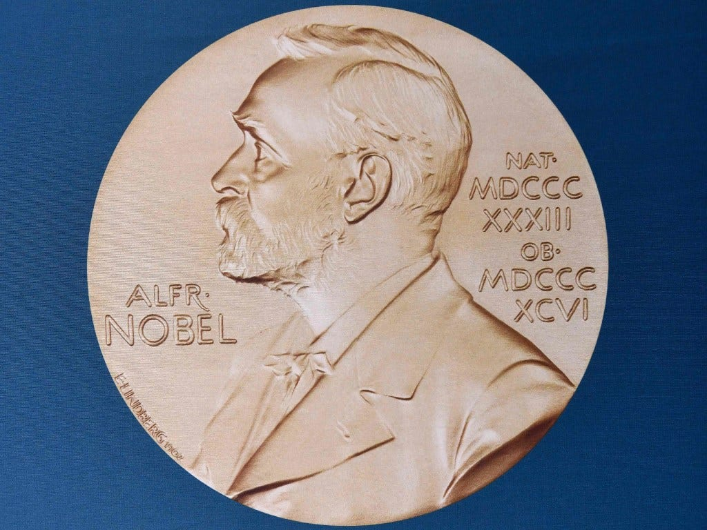 Nobel prizes 2018 chemistry inventions