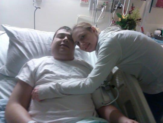 Cody Lambert and his girlfriend Jennifer Ratliff while