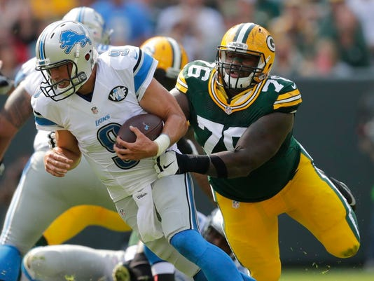 Mike Daniels, Matthew Stafford