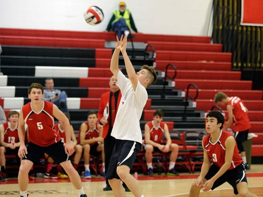Blake Kratzer, Wauwatosa East volleyball
