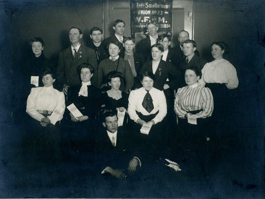 Members of the WPU and Silver Bow Trades and Labor