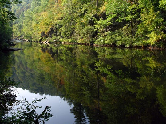 The Tellico River is one of many waterways running through Cherokee National Forest.