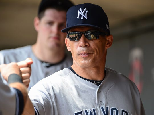 Manager Joe Girardi and the Yankees begin a three-game series against the Twins Monday at Yankee Stadium. The game could be a preview of the AL Wild Card game.