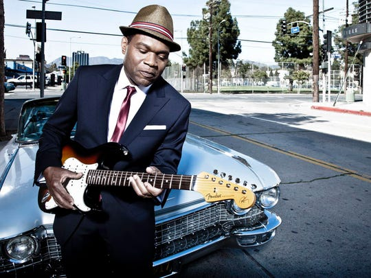 Robert Cray Band performs at Potawatomi Hotel & Casino's Northern Lights Theater Tuesday.