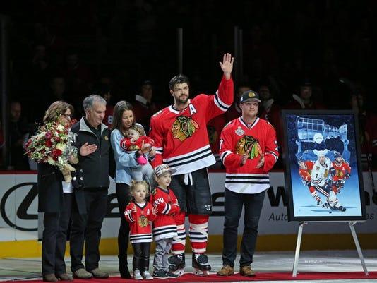 USP NHL: WINNIPEG JETS AT CHICAGO BLACKHAWKS S HKN CHI WPG USA IL