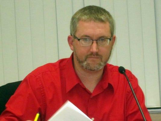 Lisbon Town Board Chairman Joe Osterman