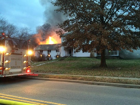 Zanesville Fire Department is on the scene of a structure fire in the 2000 block of Dresden Road.