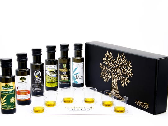 Tasting kit from Olive Oil Lovers for the 2016 holiday