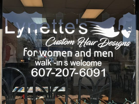 Lynette's Custom Hair Designs opened recently on East 14th St. in Elmira Heights.