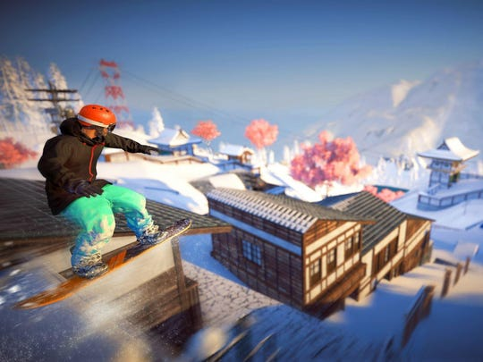 Steep: Road to the Olympics for PS4 and Xbox One.