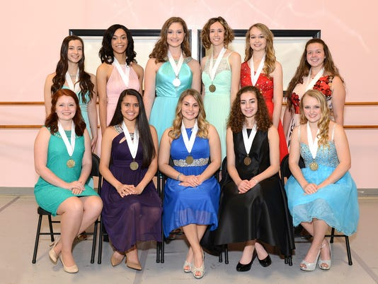 WSD distinguished young women
