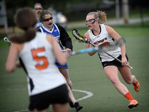Palmyra topped Cedar Crest 10-9 in a squeaker at In